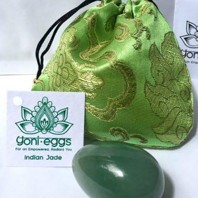Medium Indian Jade Yoni Egg